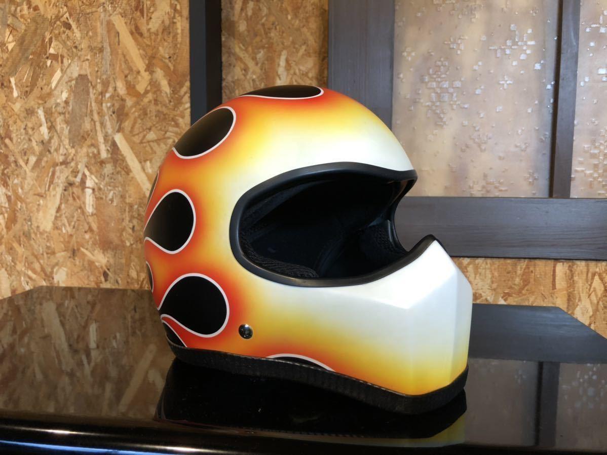 ハーレー サードアイ ジョーカー ヘルメット カスタムペイント_画像5