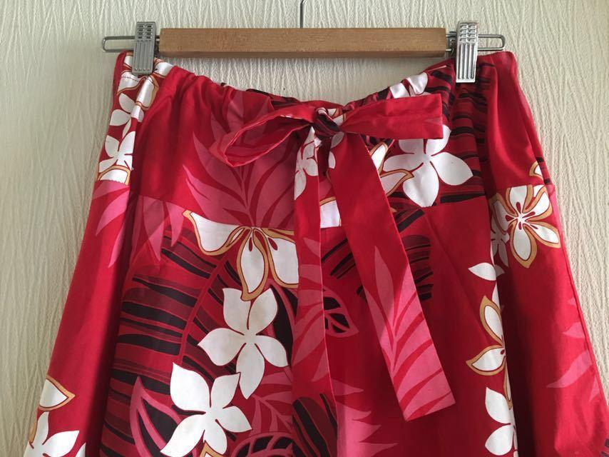 ★ルーツ ★2way ★スカート ★プルメリア ★フラダンス ★イベント ★ハワイ ★ハワイアン ★クリスマス ★クリパ ★メレフラ_画像2