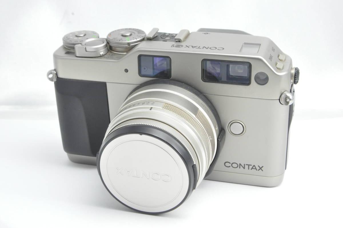 #4487 CONTAX G1 Planar 45mm F2 Gマウントレンズ コンタックス レンジファインダー プラナー