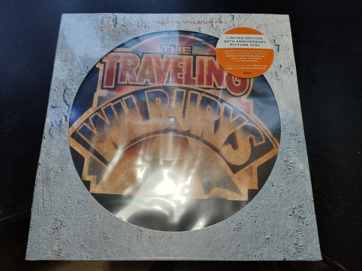 Traveling Wilburys vol.1 30th Aniversary limited edition 12 Picture Disc アナログLP 輸入盤 ジョージ・ハリスン ボブ・ディラン
