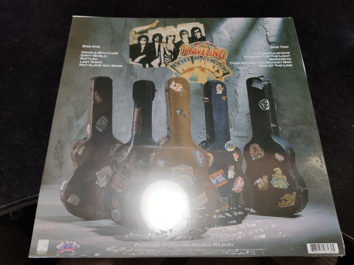 Traveling Wilburys vol.1 30th Aniversary limited edition 12 Picture Disc アナログLP 輸入盤 ジョージ・ハリスン ボブ・ディラン_画像2