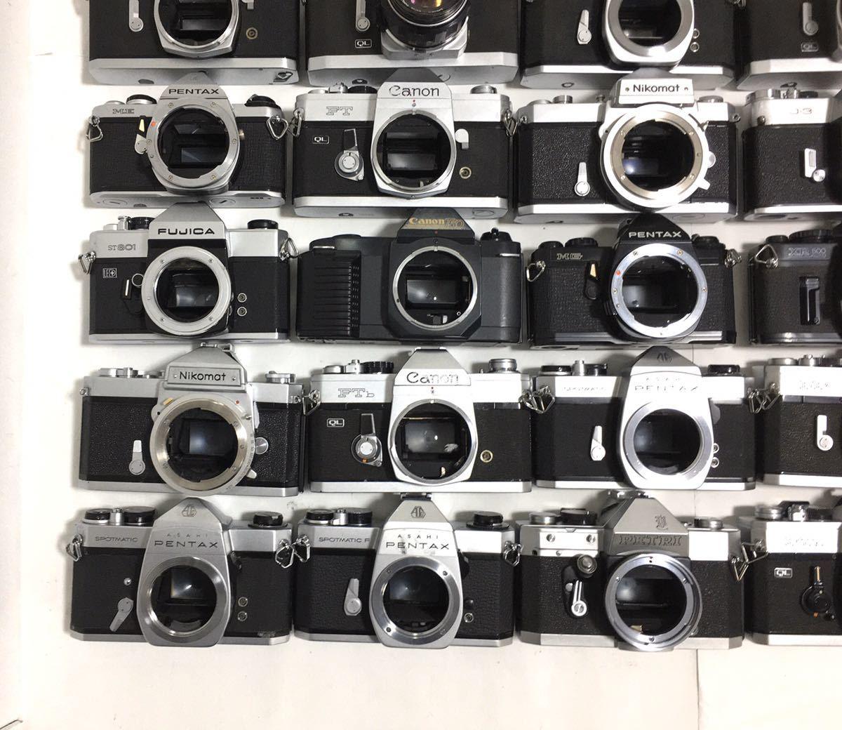 フィルムカメラ 一眼レフ マニュアル 40台 まとめ 大量セット Canon PENTAX MINOLTA Nikon YASHICA RICHO FUJICA その他 動作未確認_画像8