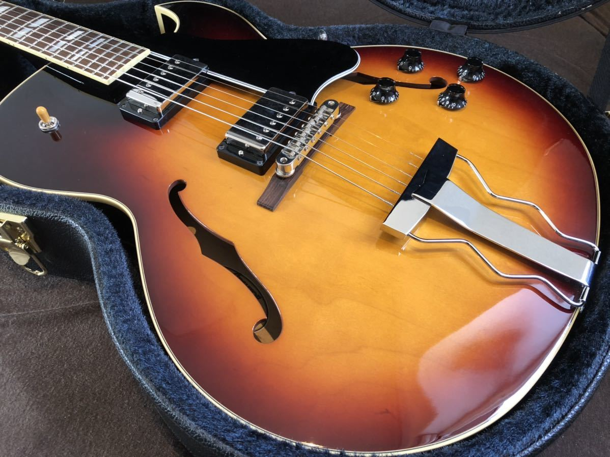 Archtop Tribute AT-102MD|フルアコ gibson es-175 es-335_画像6