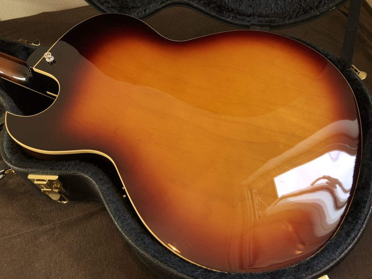 Archtop Tribute AT-102MD|フルアコ gibson es-175 es-335_画像9