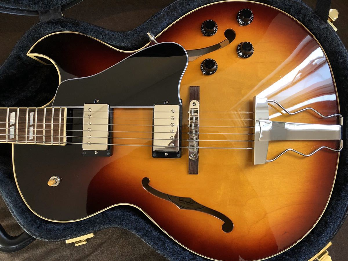 Archtop Tribute AT-102MD|フルアコ gibson es-175 es-335_画像4