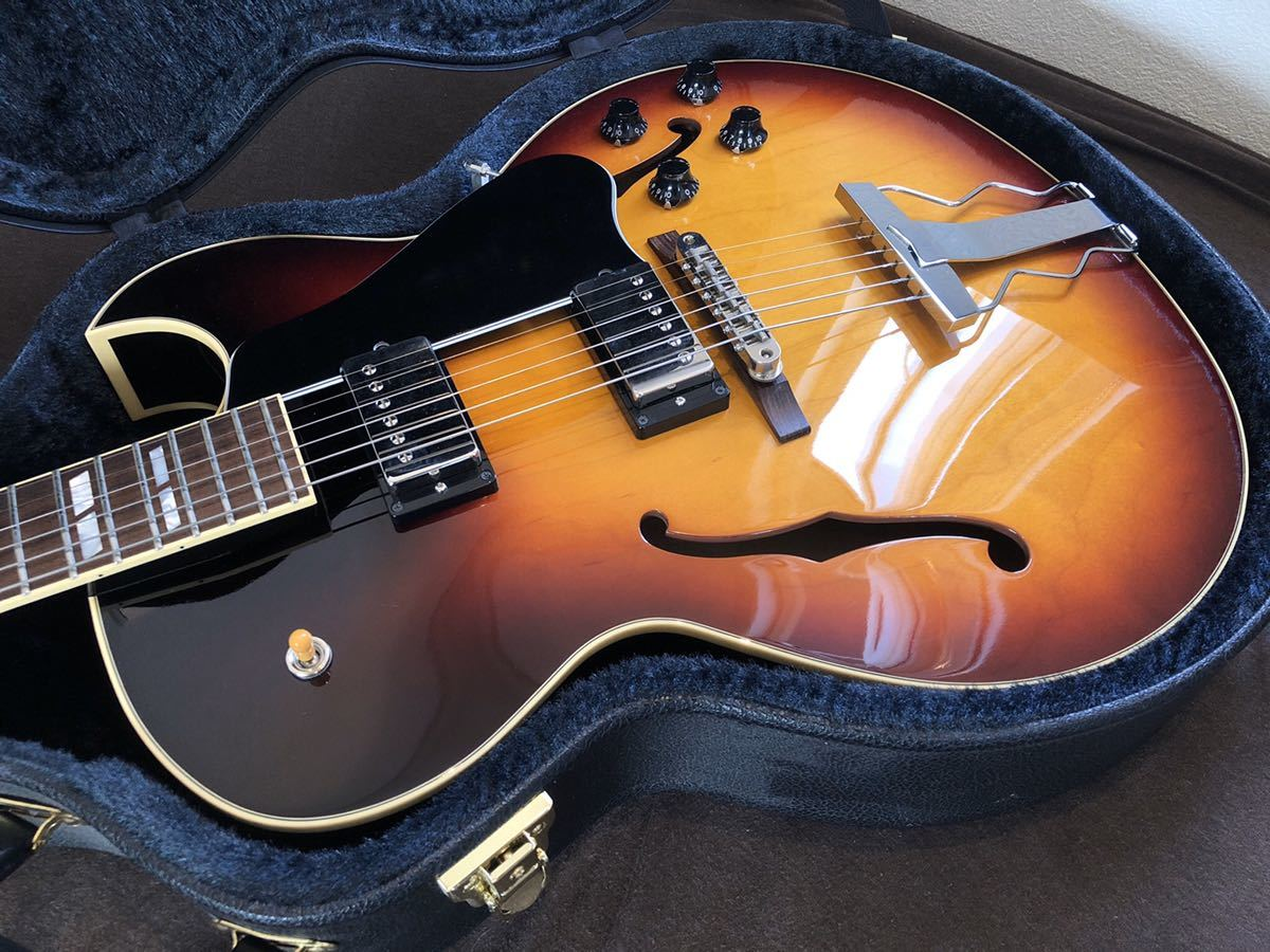 Archtop Tribute AT-102MD|フルアコ gibson es-175 es-335_画像2