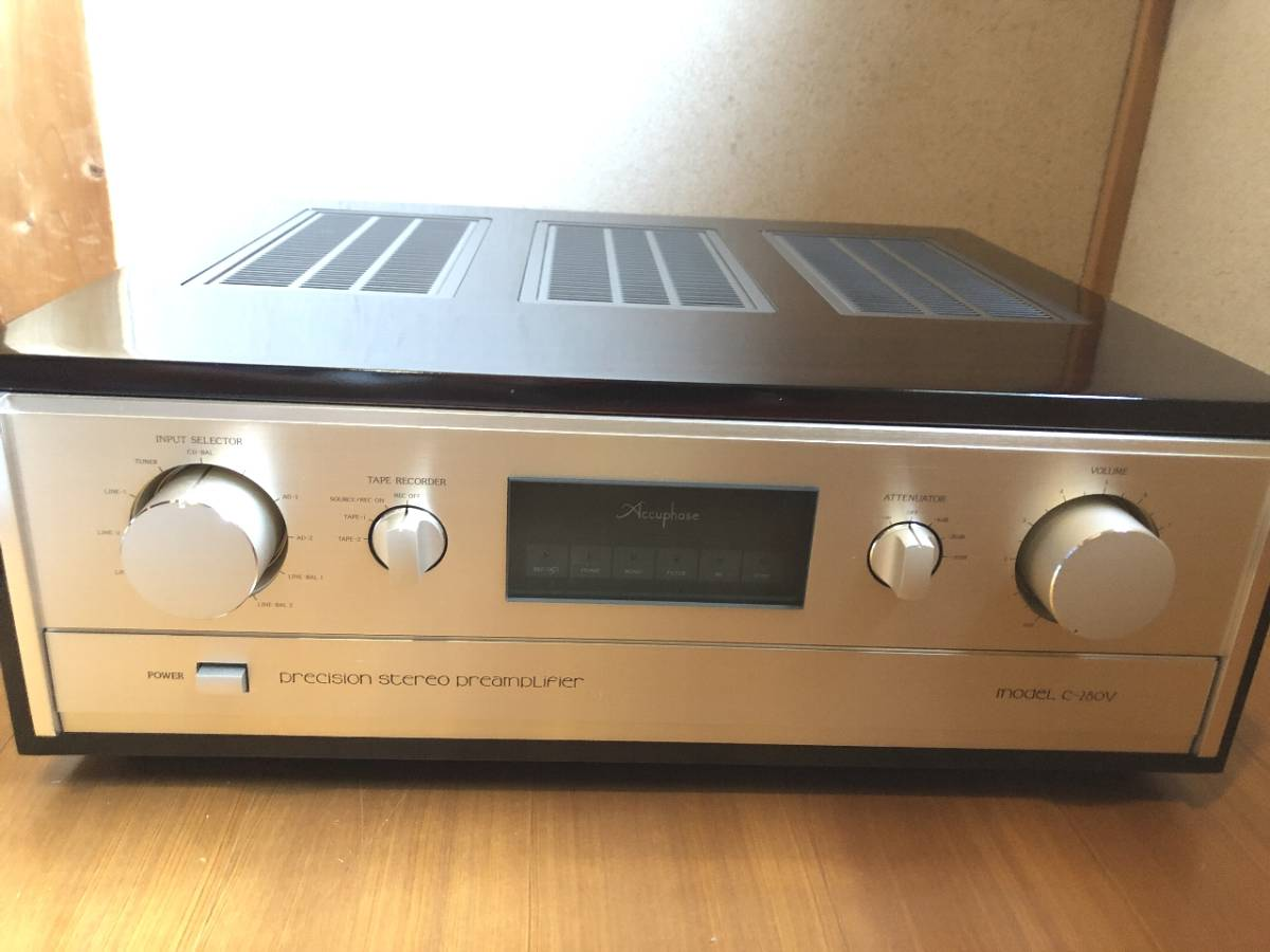 Accuphase◆アキュフェーズ プリアンプ C‐280V メーカーOH済_画像2