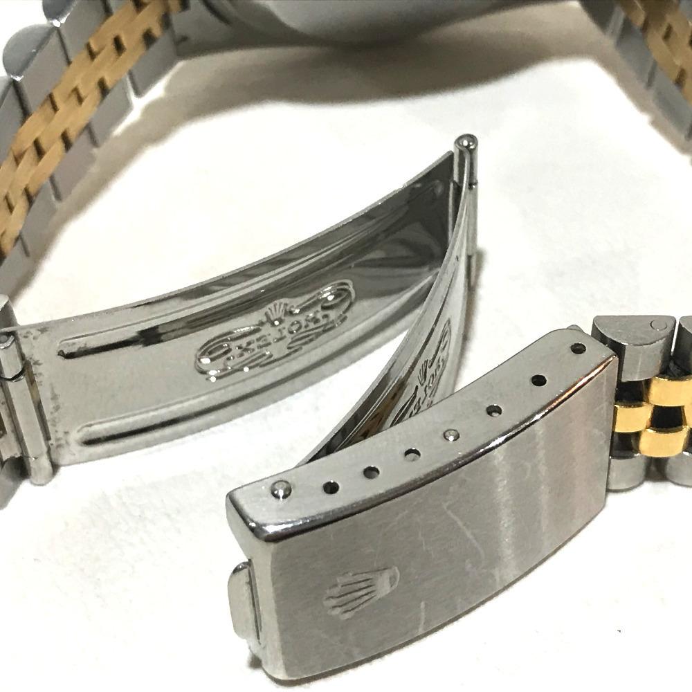 ROLEX ロレックス 16233 メンズ腕時計 デイトジャスト オイスターパーペチュアル コンピューター文字盤 K18YG/SS 自動巻き S番_画像5