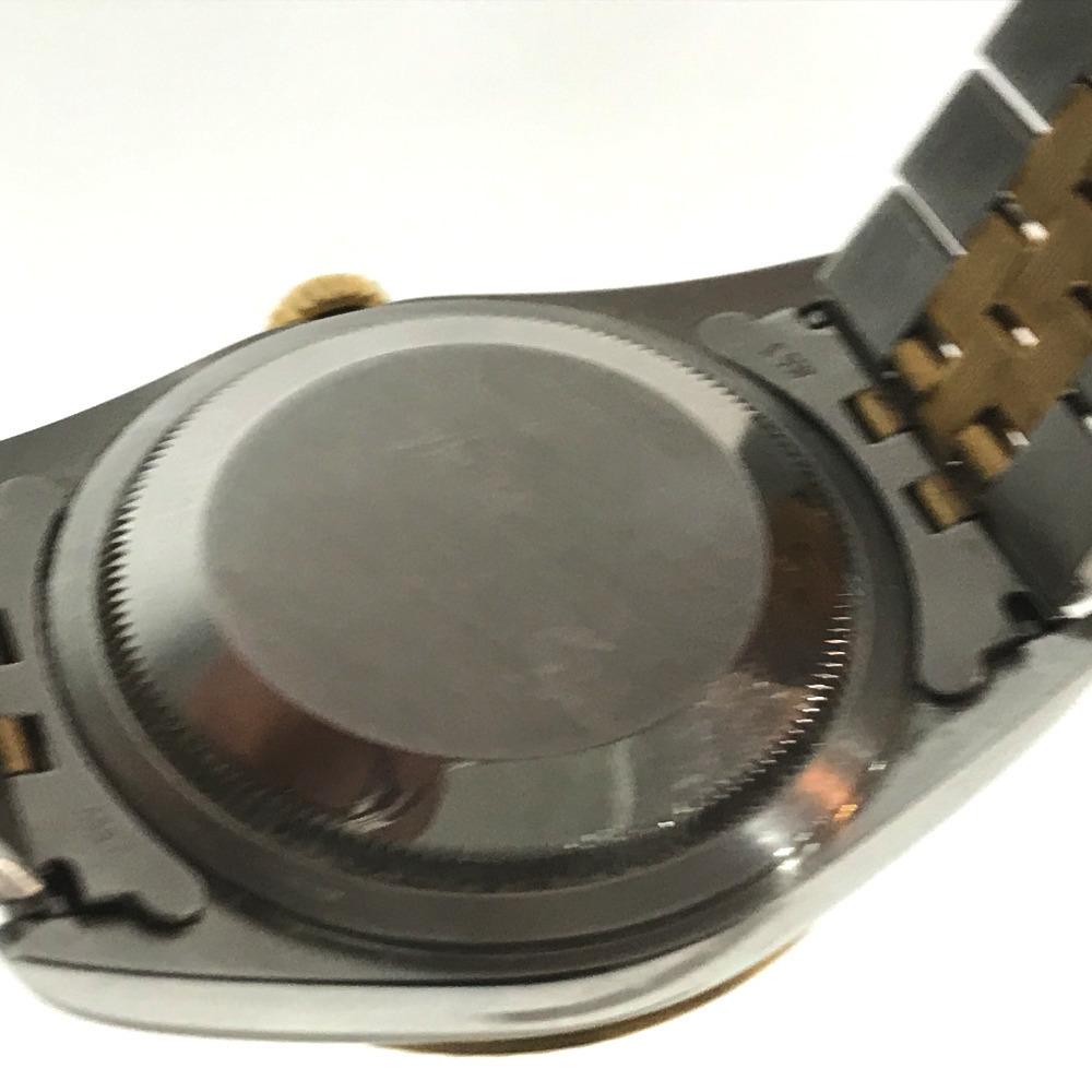 ROLEX ロレックス 16233 メンズ腕時計 デイトジャスト オイスターパーペチュアル コンピューター文字盤 K18YG/SS 自動巻き S番_画像6