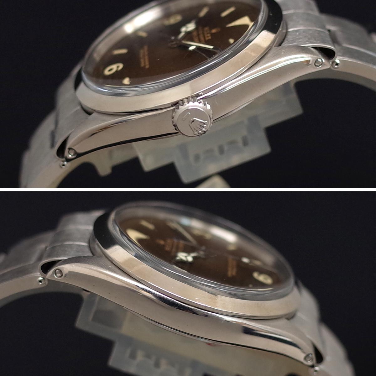OH済み♪ロレックス【エクスプローラーⅠ/Ref.1016】トロピカルブラウン 1965年製 ミラーダイヤル 自動巻 cal.1560 ROLEX 1年保証_画像5
