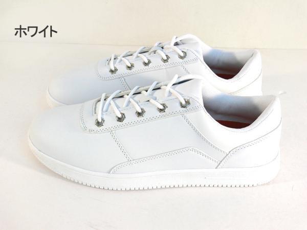 42mk  スニーカー 白 メンズ 大きいサイズ 痛くない 運動靴 紐靴 (ホワイト) 26cm_画像2