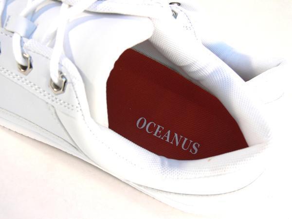 42mk  スニーカー 白 メンズ 大きいサイズ 痛くない 運動靴 紐靴 (ホワイト) 26cm_画像4