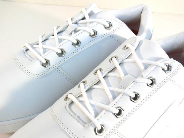42mk  スニーカー 白 メンズ 大きいサイズ 痛くない 運動靴 紐靴 (ホワイト) 26cm_画像7