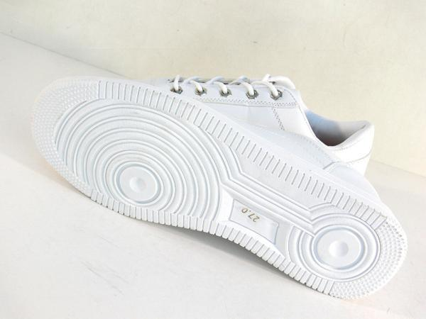 42mk  スニーカー 白 メンズ 大きいサイズ 痛くない 運動靴 紐靴 (ホワイト) 26cm_画像5