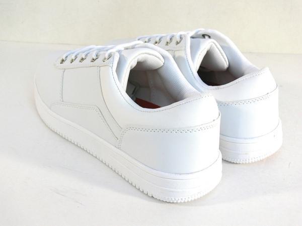 42mk  スニーカー 白 メンズ 大きいサイズ 痛くない 運動靴 紐靴 (ホワイト) 26cm_画像8