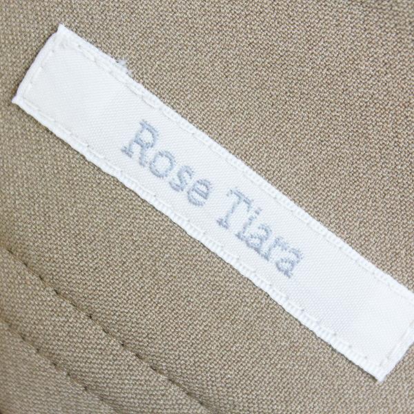 Rose Tiara ローズティアラ サスペンダー 付き フロント パール ボタン スカート 46/-ベージュ ボトムス シンプル【2400011471789】_画像8