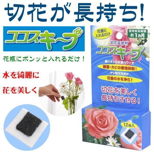 【870329】切花延命材 ココスキープ 24ヶ 切り花が長持ち♪_画像1