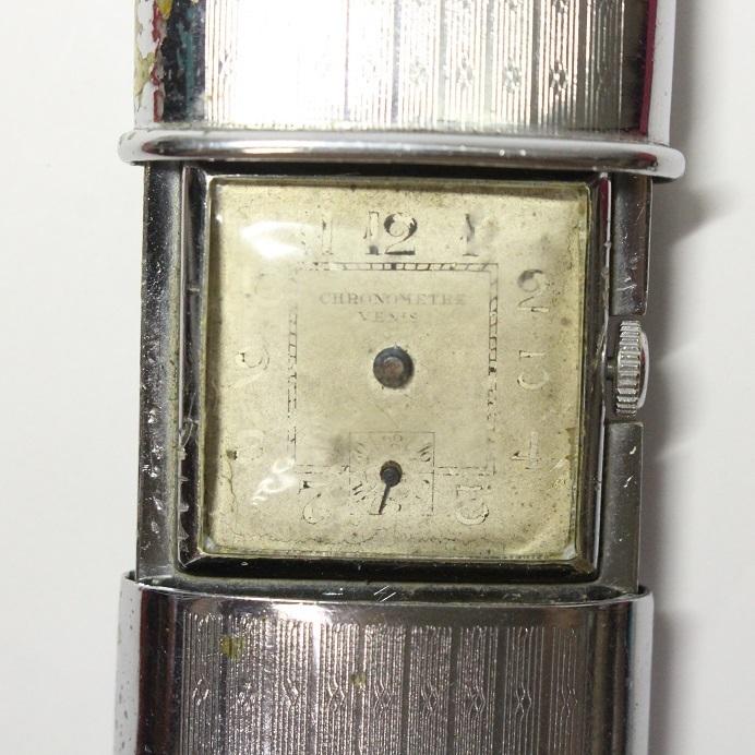 変わった開閉式 懐中時計 レターパックプラス可 1031R4r_画像2