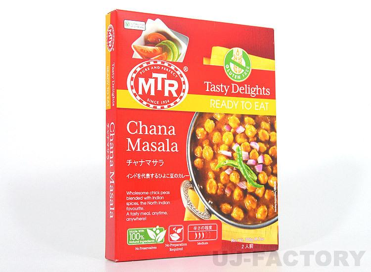 【MTR 本格老舗カレー!】★ひよこ豆の辛口カレー/1パック(300g/2人~3人分)★インドそのままのおいしさをご家庭のテーブルヘ♪_画像1