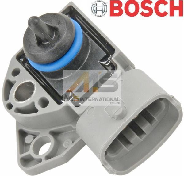 【M's】ボルボ C30 V50 S60 V70 XC70 S80 XC90 BOSCH 燃料プレッシャーセンサー/VOLVO 純正OEM ボッシュ 燃料圧力センサー 026-123-0110_画像1