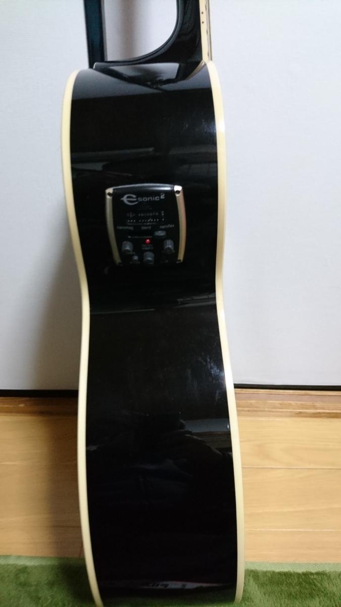 エピフォン EJ200 CE Bk エレアコ ソフトケース_画像4