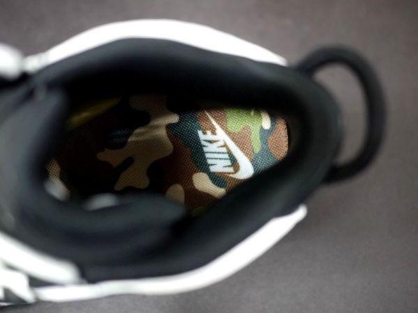新品t68 ナイキ エア モアアップテンポ QS (GS) BLACK CAMO (7Y 25.0cm) 黒 迷彩 NIKE AIR MORE UPTEMPO GS 日本未発売 モアテン_画像8