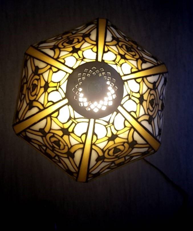 ステンドグラス調ランプ YK-077_画像4