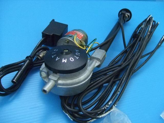 激レア 当時物 新品 12V用 日本製 ラジオ AM FM CB 電動モーター アンテナ 旧車 昭和 レトロ ビンテージ オートマチック 品番 nw-610CB_画像3