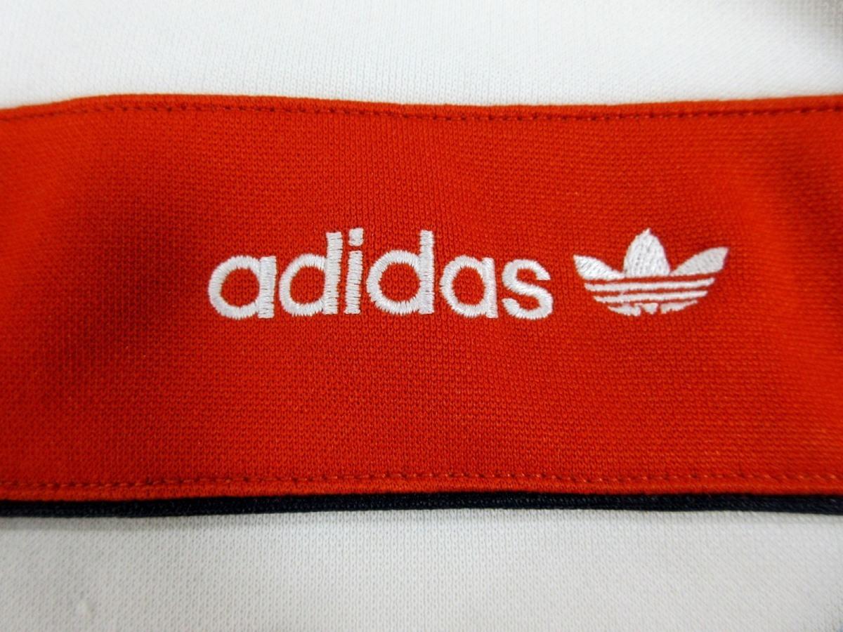 adidas Originals アディダス オリジナルス ハーフZIP ジャージトップ トラックジャケット オレンジ_画像5