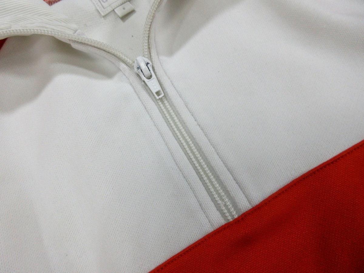 adidas Originals アディダス オリジナルス ハーフZIP ジャージトップ トラックジャケット オレンジ_画像3