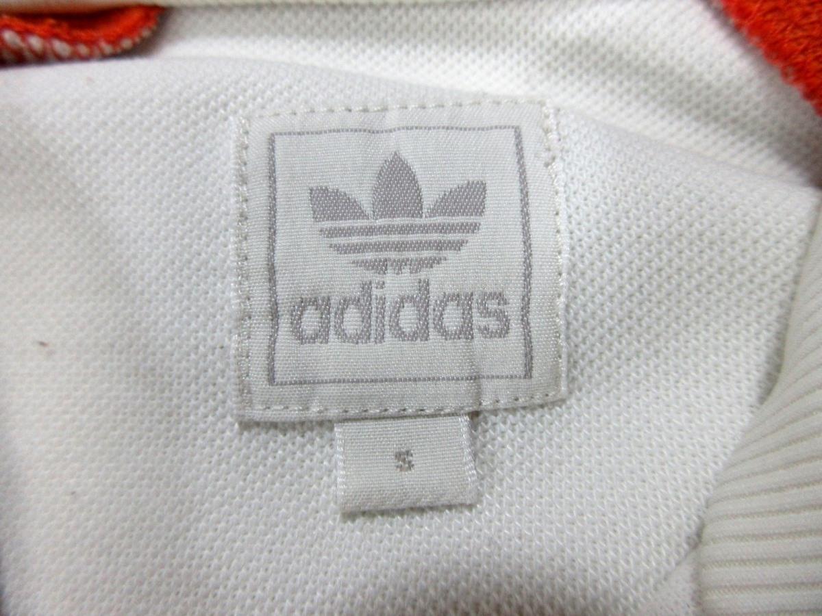 adidas Originals アディダス オリジナルス ハーフZIP ジャージトップ トラックジャケット オレンジ_画像8