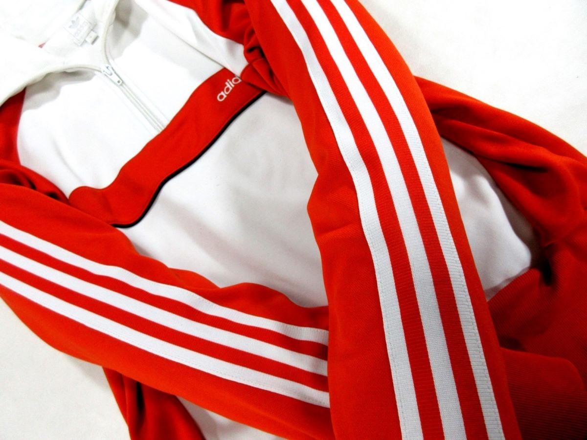 adidas Originals アディダス オリジナルス ハーフZIP ジャージトップ トラックジャケット オレンジ_画像2