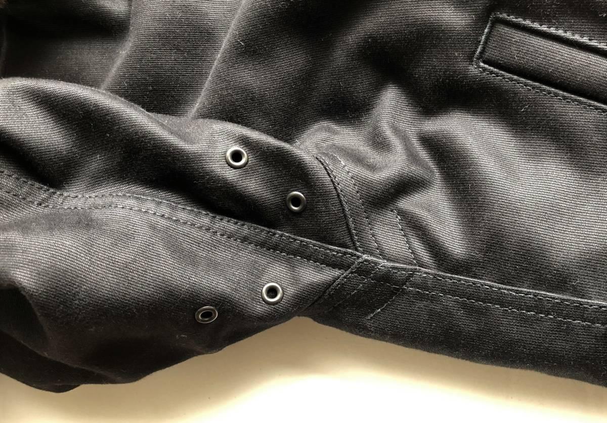 ●美品 RADIALL ラディアル N-1 デッキジャケット ブラック 裏ボア サイズS●_画像5