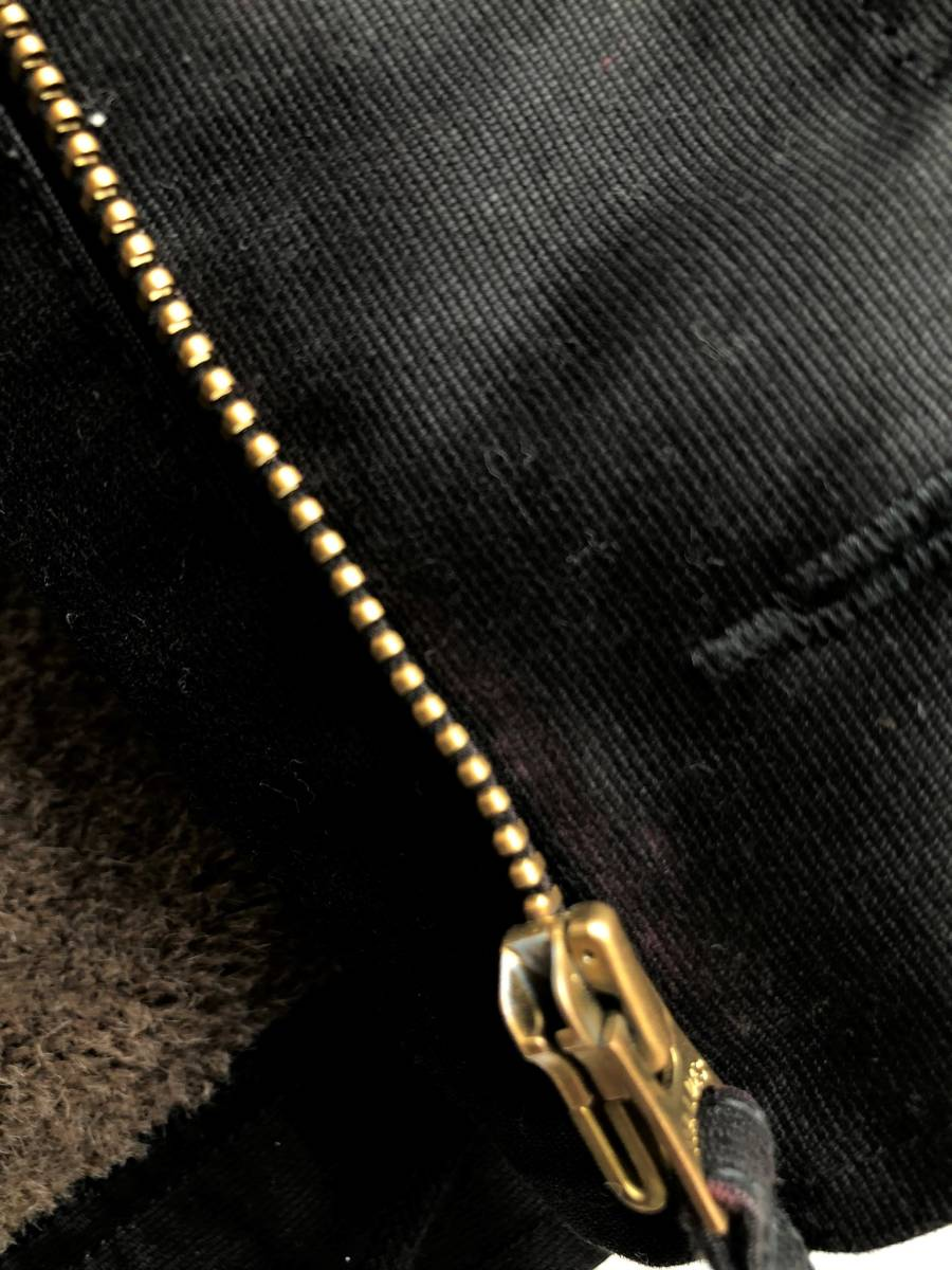 ●美品 RADIALL ラディアル N-1 デッキジャケット ブラック 裏ボア サイズS●_画像6