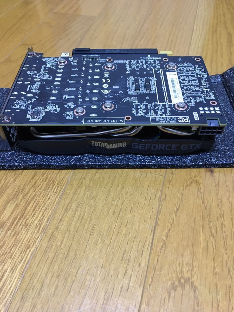 ゾタック OTAC GAMING GeForce GTX 1660 Ti 6GB GDDR6 ZT-T16610F-10L [PCIExp 6GB]_画像5