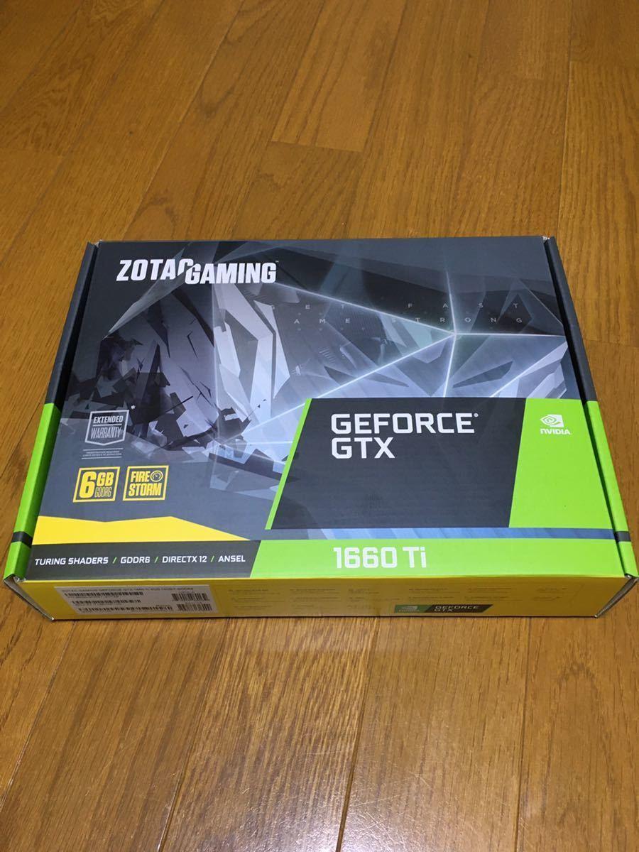 ゾタック OTAC GAMING GeForce GTX 1660 Ti 6GB GDDR6 ZT-T16610F-10L [PCIExp 6GB]_画像1