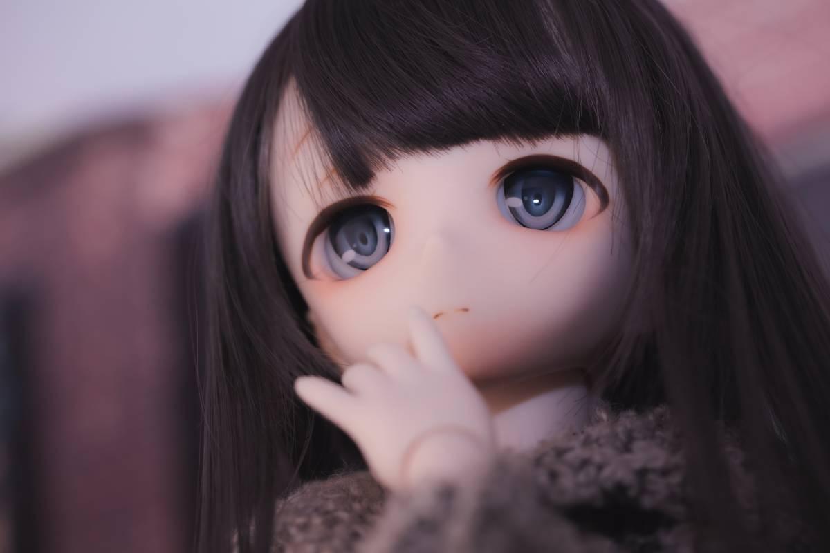 Oz*DDH-01 セミホワイト肌 カスタムヘッド+Fantasic World様製レジンアイ_画像4