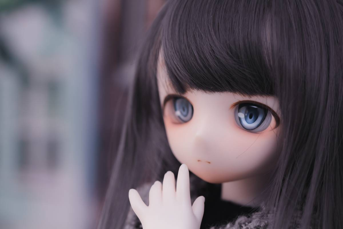 Oz*DDH-01 セミホワイト肌 カスタムヘッド+Fantasic World様製レジンアイ_画像7