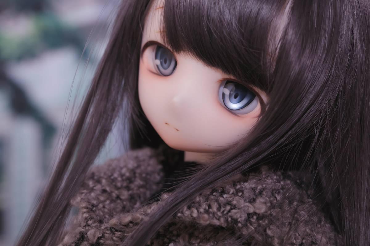 Oz*DDH-01 セミホワイト肌 カスタムヘッド+Fantasic World様製レジンアイ