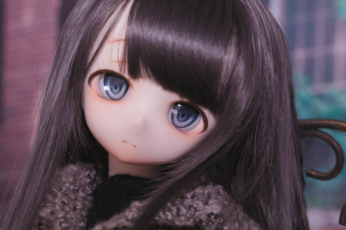 Oz*DDH-01 セミホワイト肌 カスタムヘッド+Fantasic World様製レジンアイ_画像3