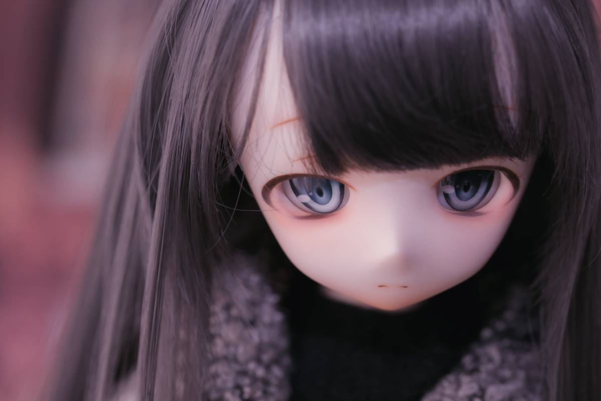 Oz*DDH-01 セミホワイト肌 カスタムヘッド+Fantasic World様製レジンアイ_画像5