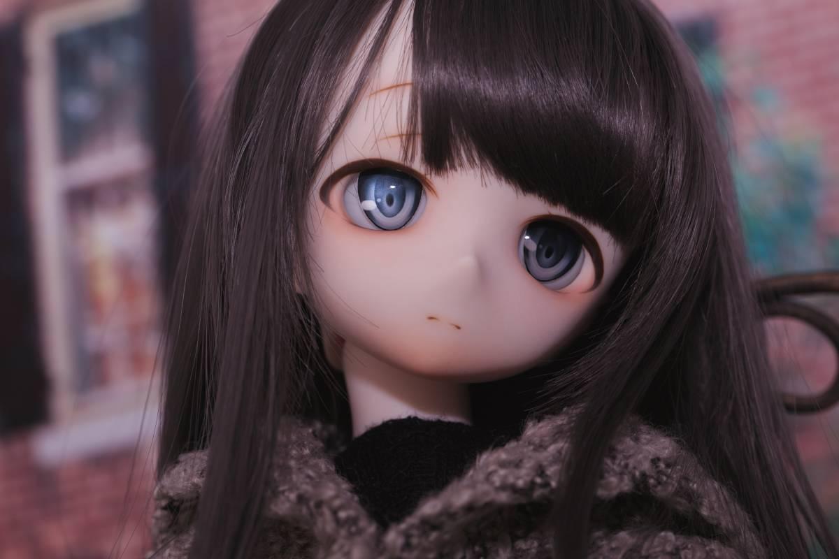 Oz*DDH-01 セミホワイト肌 カスタムヘッド+Fantasic World様製レジンアイ_画像6