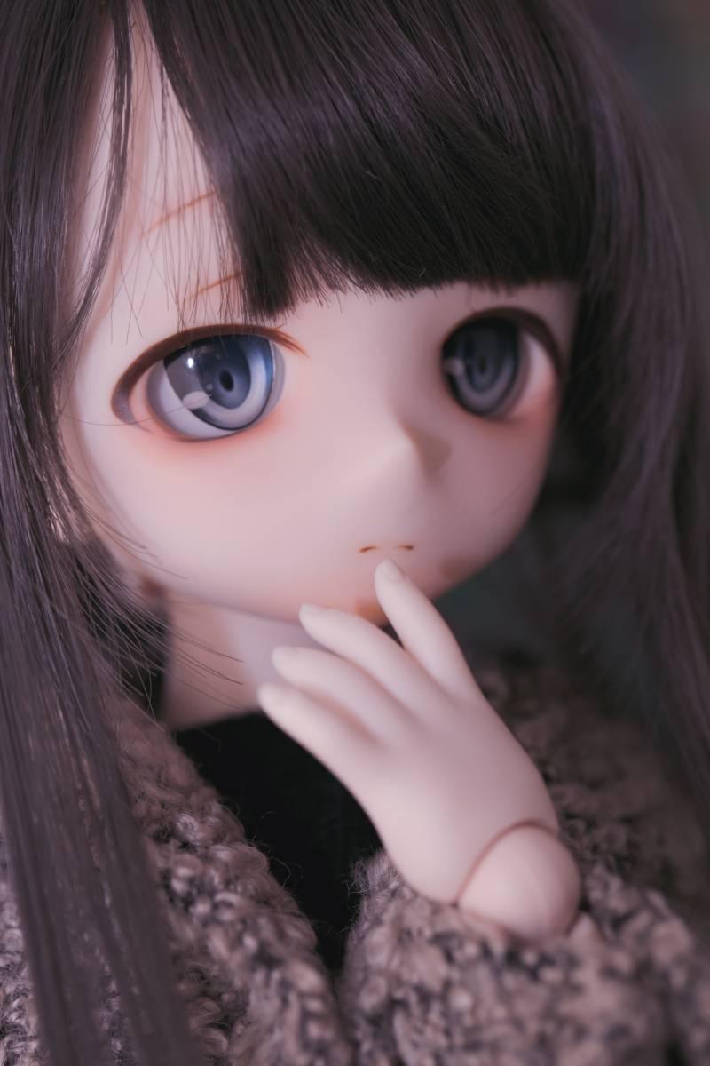 Oz*DDH-01 セミホワイト肌 カスタムヘッド+Fantasic World様製レジンアイ_画像2