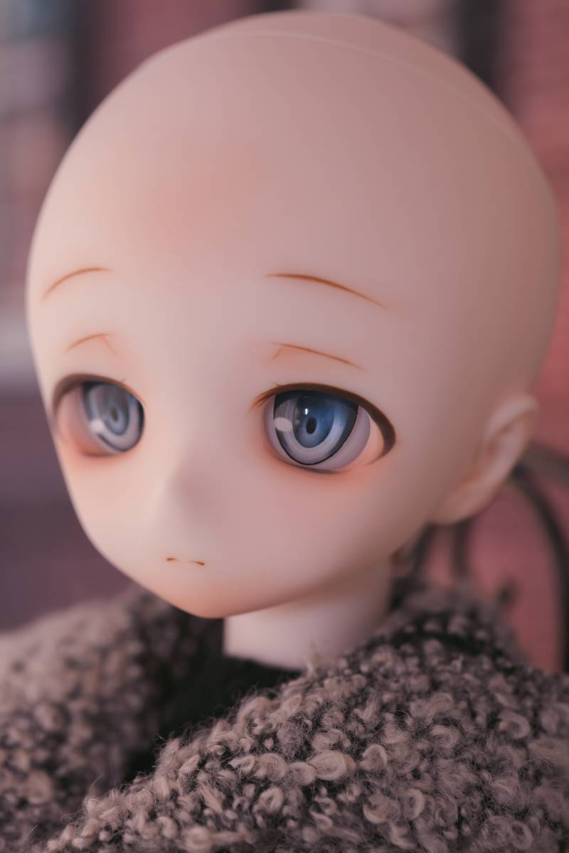 Oz*DDH-01 セミホワイト肌 カスタムヘッド+Fantasic World様製レジンアイ_画像10