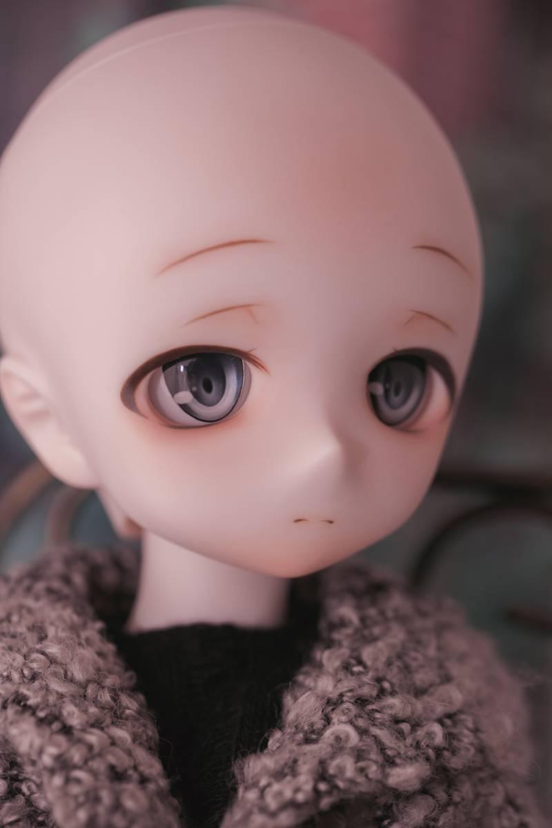 Oz*DDH-01 セミホワイト肌 カスタムヘッド+Fantasic World様製レジンアイ_画像9