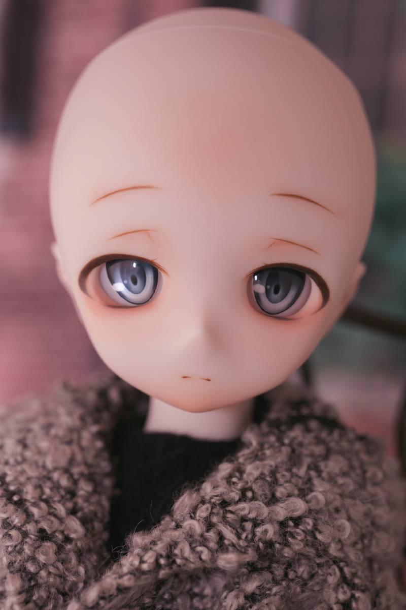 Oz*DDH-01 セミホワイト肌 カスタムヘッド+Fantasic World様製レジンアイ_画像8