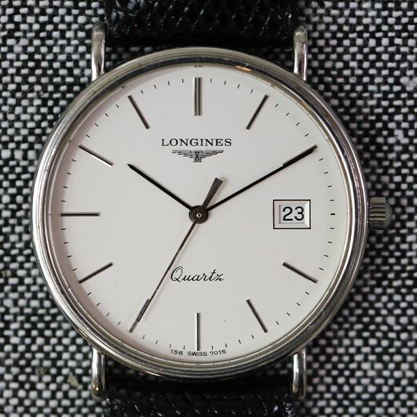 腕時計 LONGINES ロンジン 156 7015 クオーツ メンズ