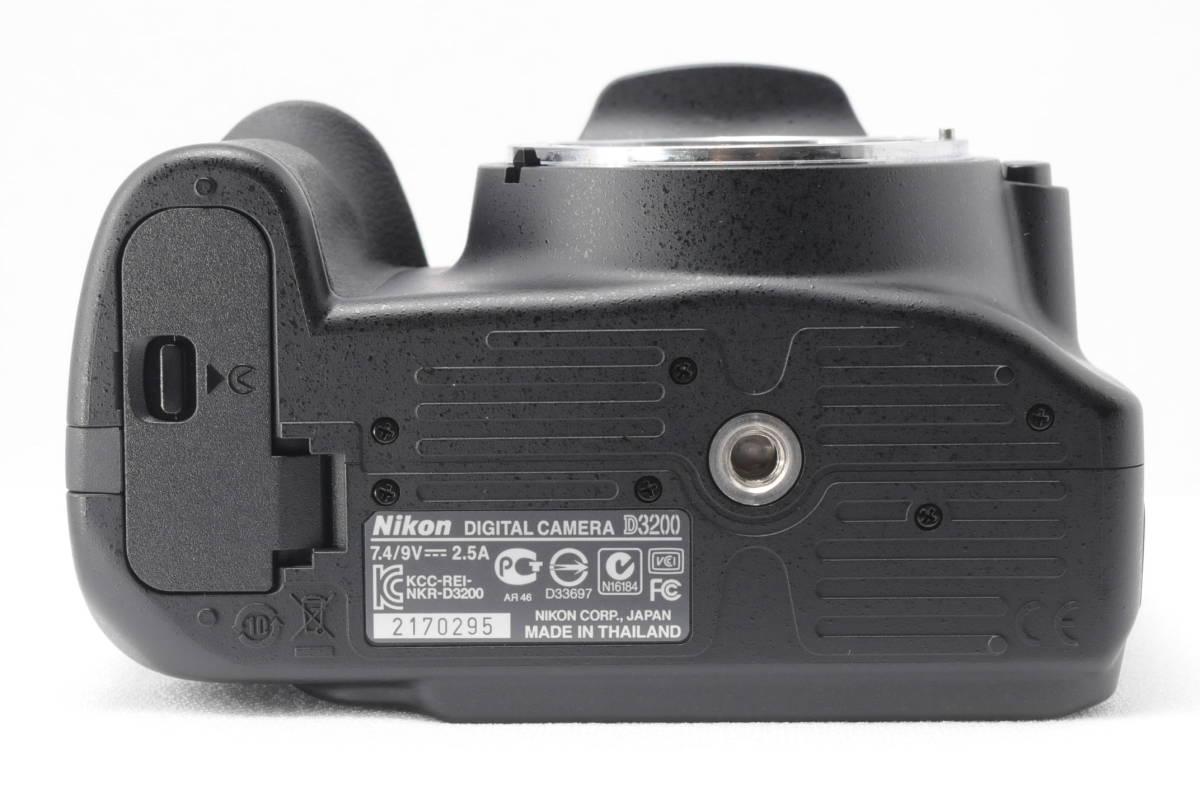 ■ほぼ新品■ニコン Nikon D3200 レンズ2本セット 《32GB SDカード・付属品多数》 #0167J31_画像9