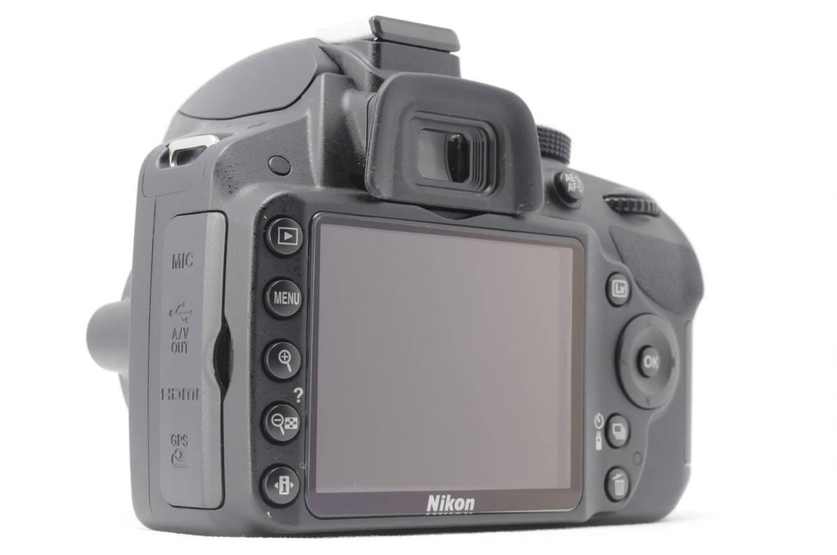 ■ほぼ新品■ニコン Nikon D3200 レンズ2本セット 《32GB SDカード・付属品多数》 #0167J31_画像7