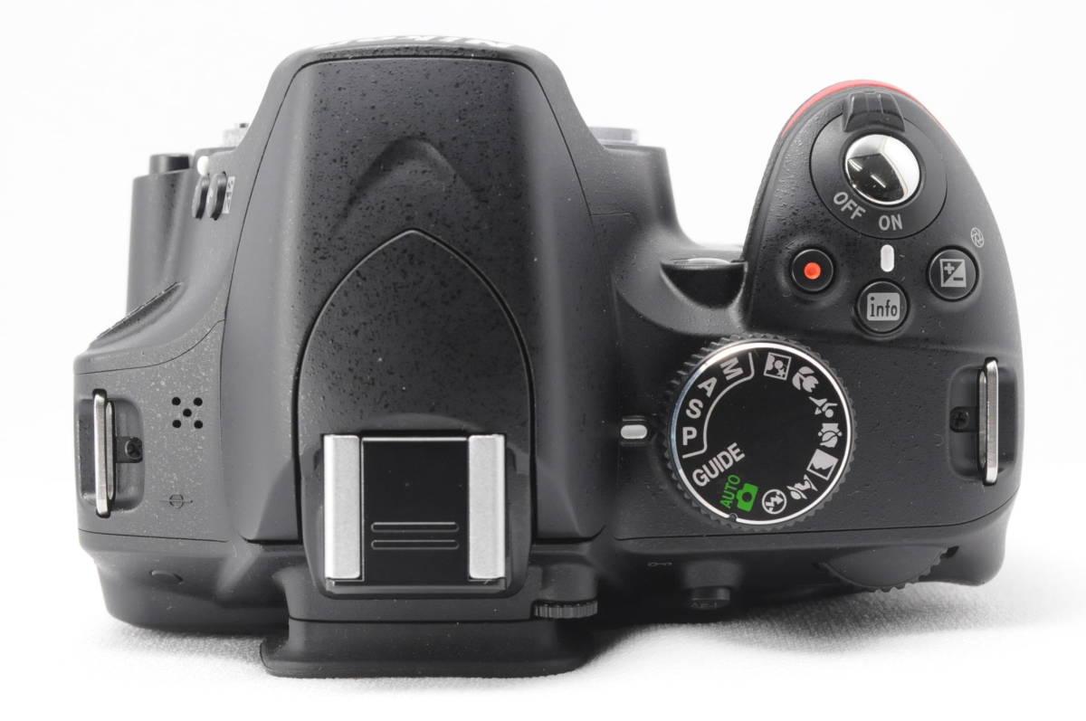 ■ほぼ新品■ニコン Nikon D3200 レンズ2本セット 《32GB SDカード・付属品多数》 #0167J31_画像8